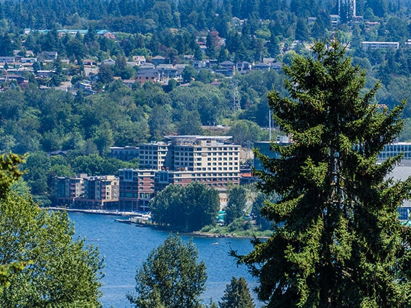 Part of Renton, WA where our Pacific NW dentist is located at Denti Belli Dentistry