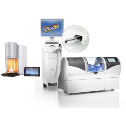 A CEREC milling machine that can craft crowns in one appointment - a part of same-day dentistrry